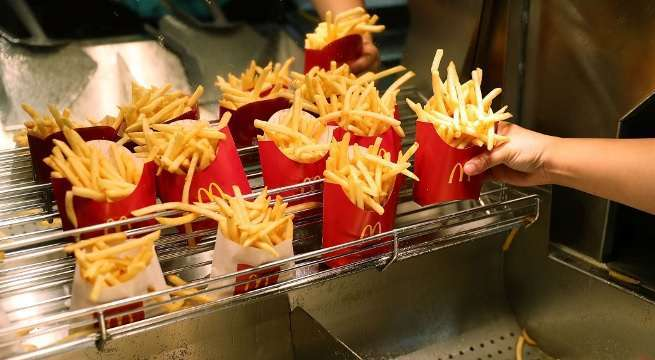 mcdonald's french fries getty