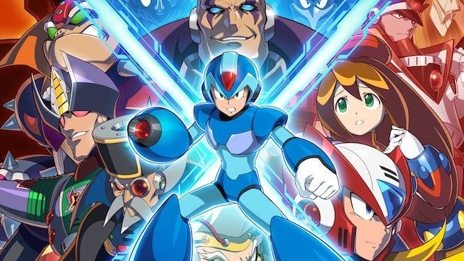 Image result for megaman x legacy collection