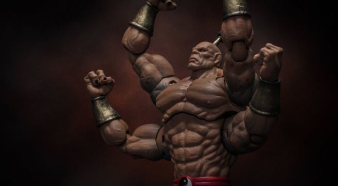This Mortal Kombat Goro Figure Is Big And Brutal