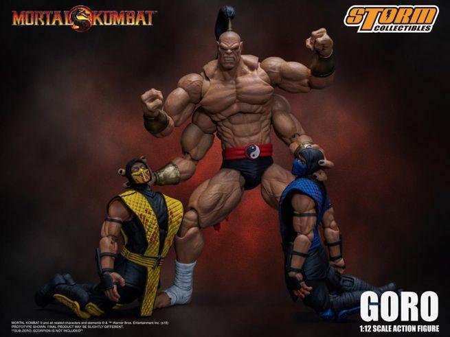 This Mortal Kombat Goro Figure Is Big And Brutal