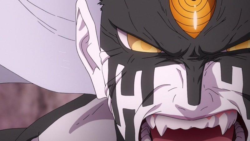 Naruto Episode 65 Fused Momoshiki Fight