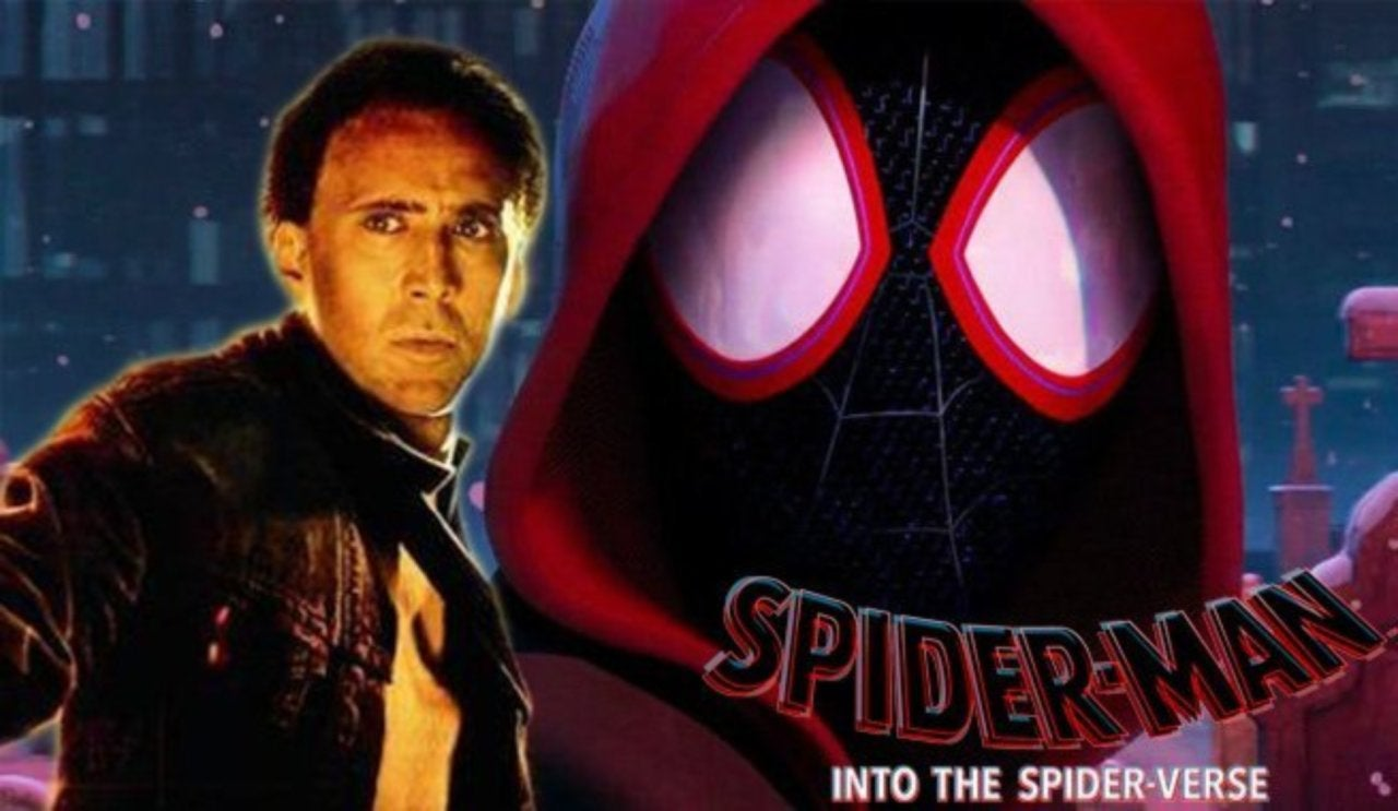 nicolas cage reportedly cast in 'into the spider-verse'