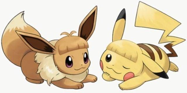 pikachu haircut