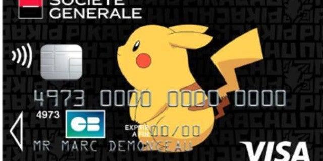 pokemon credit card