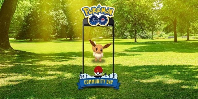 pokemon go eevee community day