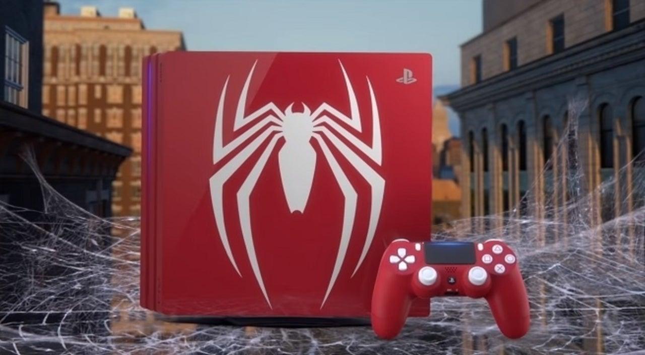 playstation pro spiderman