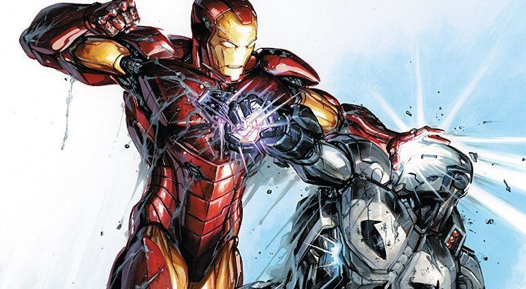 Punisher Iron Man