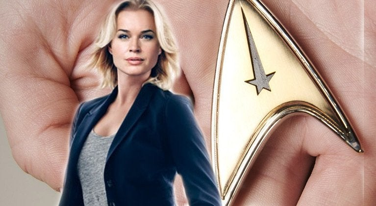 Rebecca Romijn Star Trek Discovery Number One