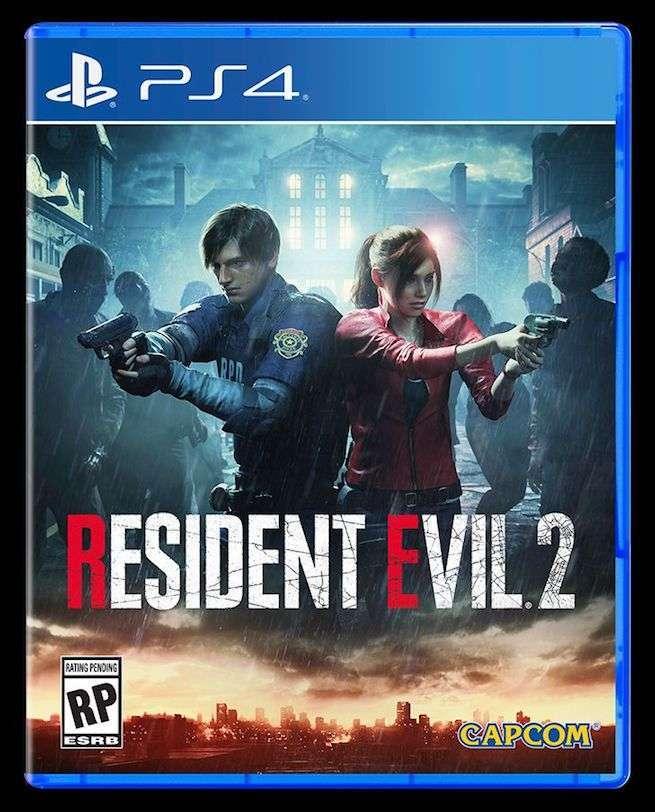 Resident Evil 2 Remake Box Art Revealed