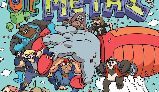 Review New Lieutenants of Metal #1 - Cover