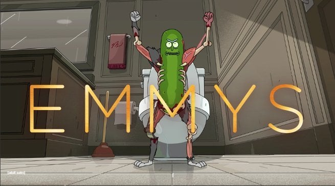 Rick and Morty Pickle Rick Emmy Nomination 2018