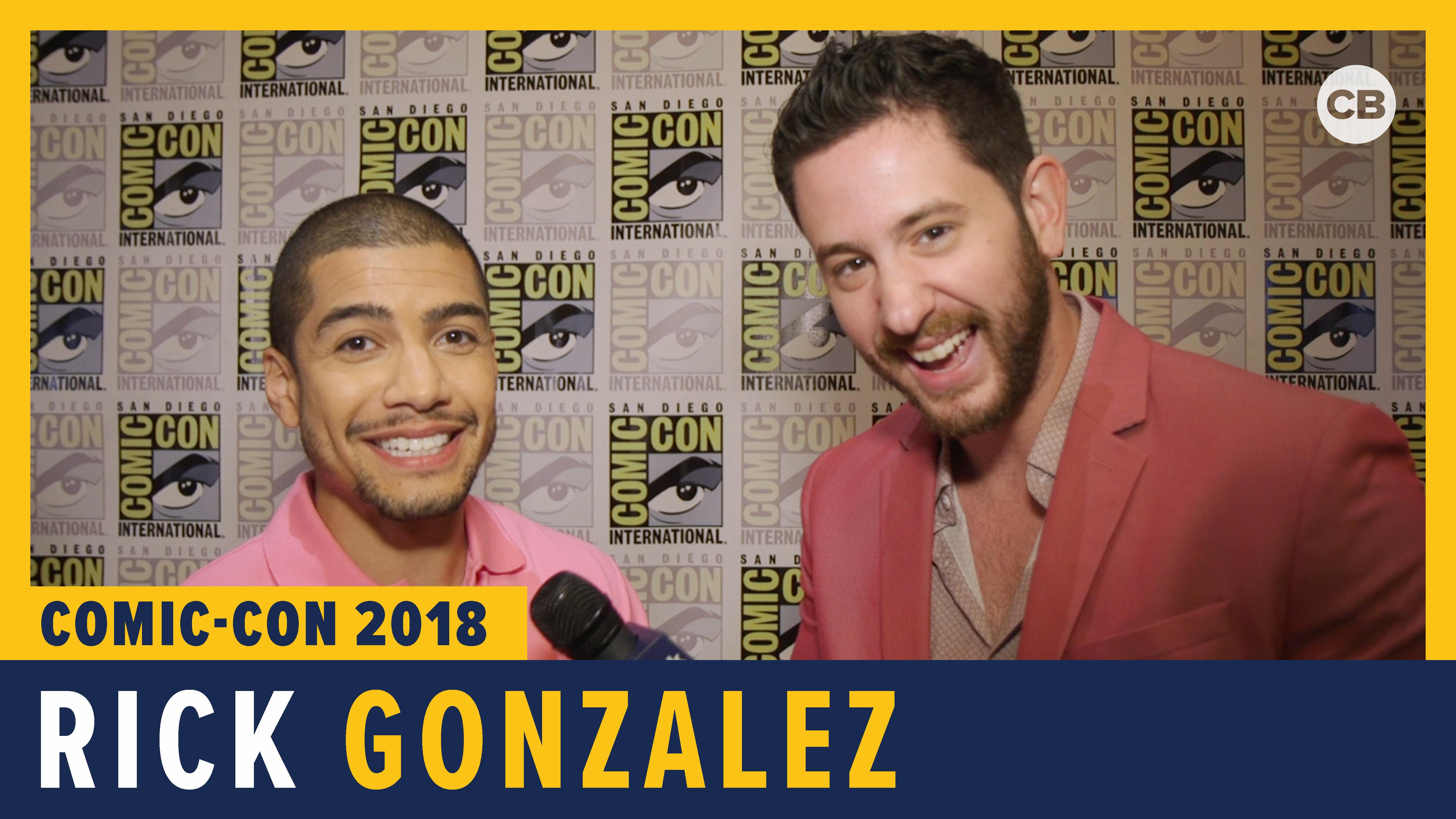 Rick Gonzalez - SDCC 2018 Exclusive Interview screen capture