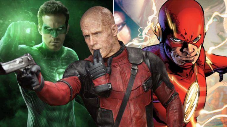 Ryan Reynolds Green Lantern Flash comicbookcom