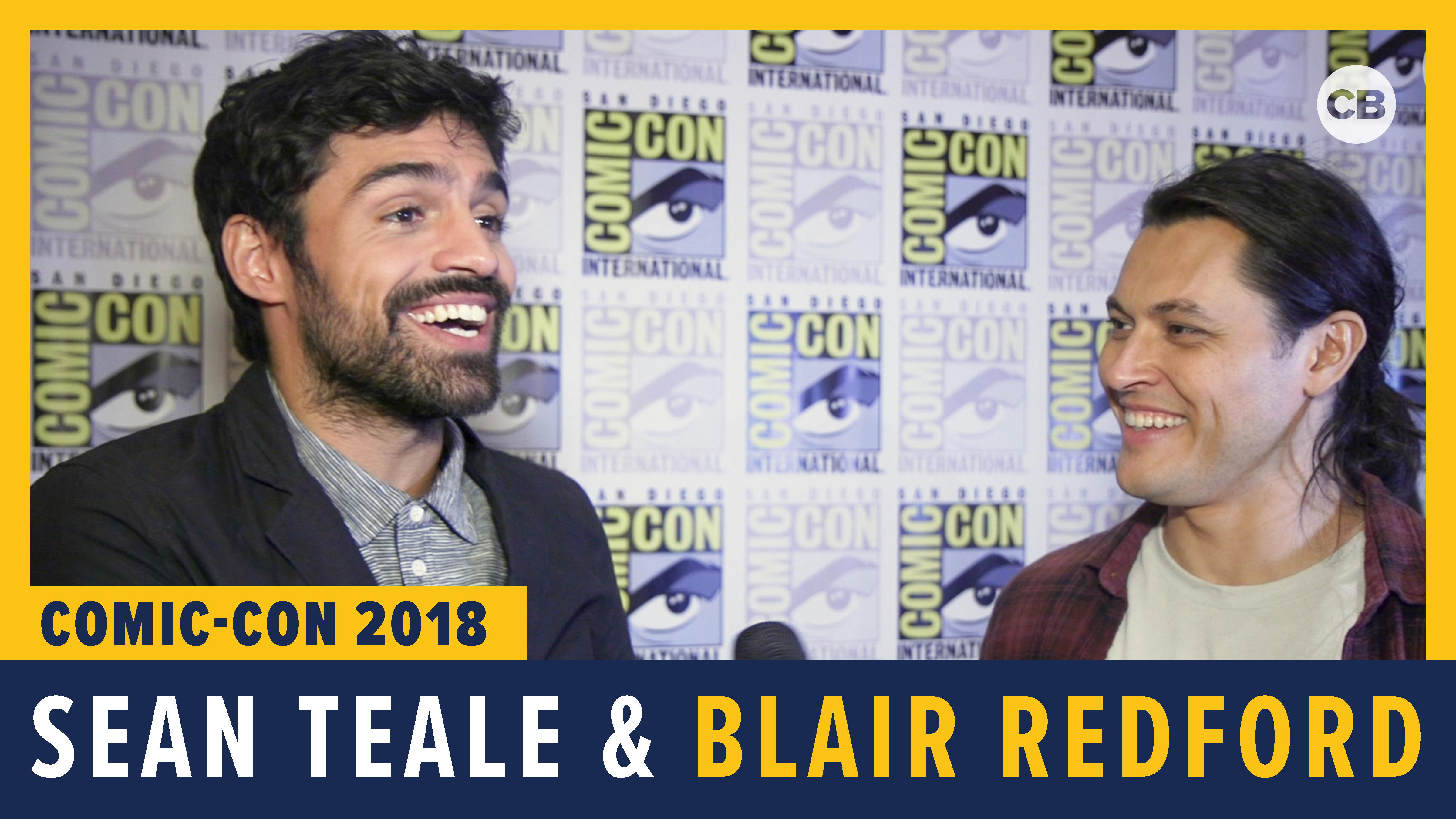 Sean Teale and Blair Redford - SDCC 2018 Exclusive Interview screen capture