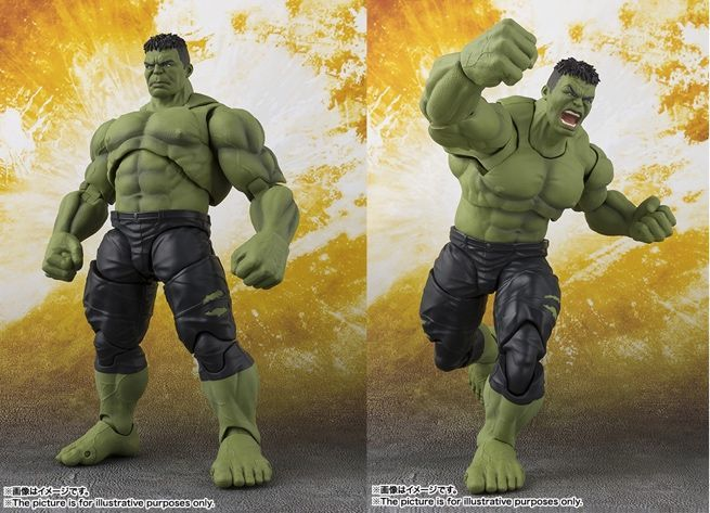 hulk joins the 'avengers: infinity war' s.h. figuarts lineup
