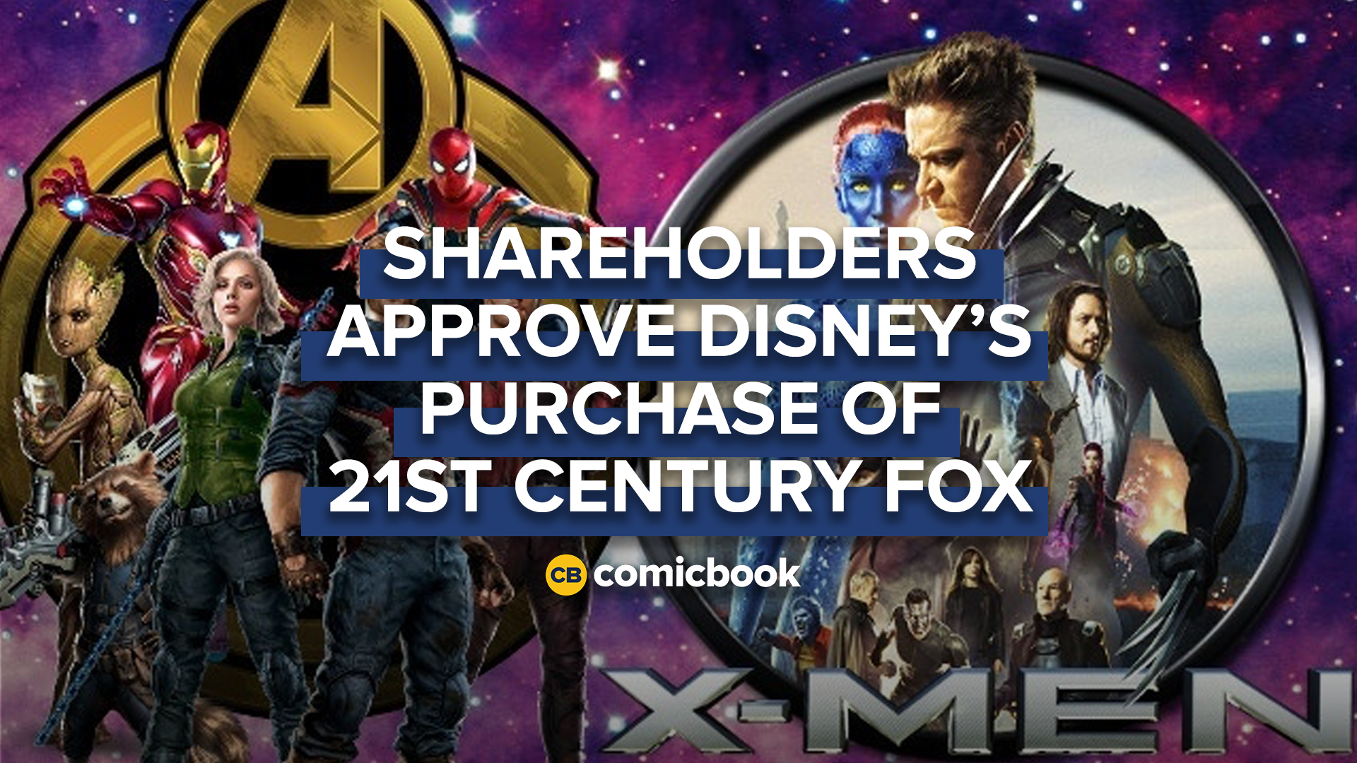 Shareholders Approve Disney's Purchase of 21st Century Fox screen capture
