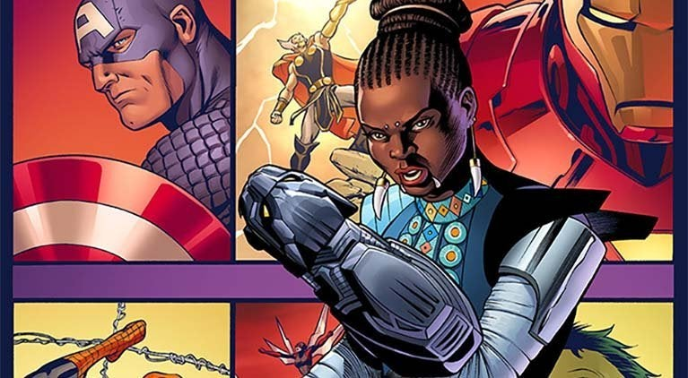 shuri marvel comics header