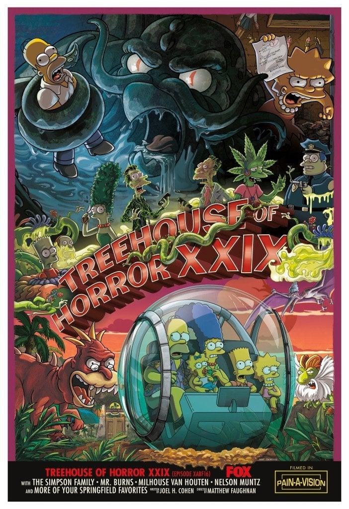 Simpsons Treehouse of Horror XXIX