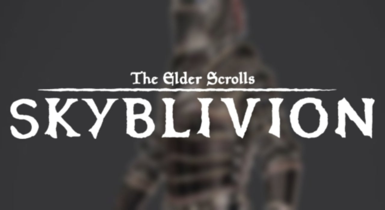 Skyblivion Update Reveals First Look at Revised Ebony Armor Set