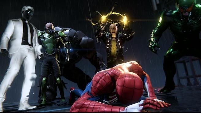 spider-man ps4 villains