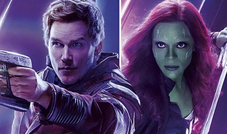 Star Lord Gamora
