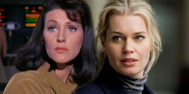 star trek discovery casts rebecca romijn as number one