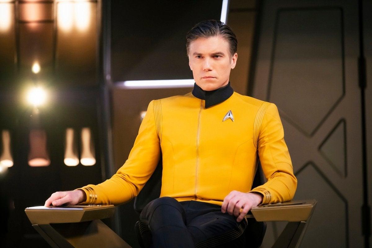 Star Trek Discovery Pike