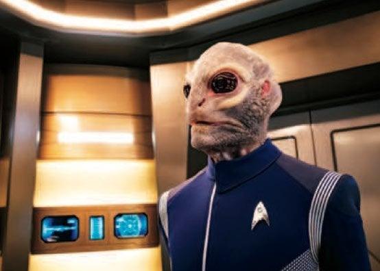 Star Trek Discovery Saurian Linus