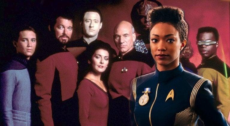 Star Trek Discvoery Marina Sirtis