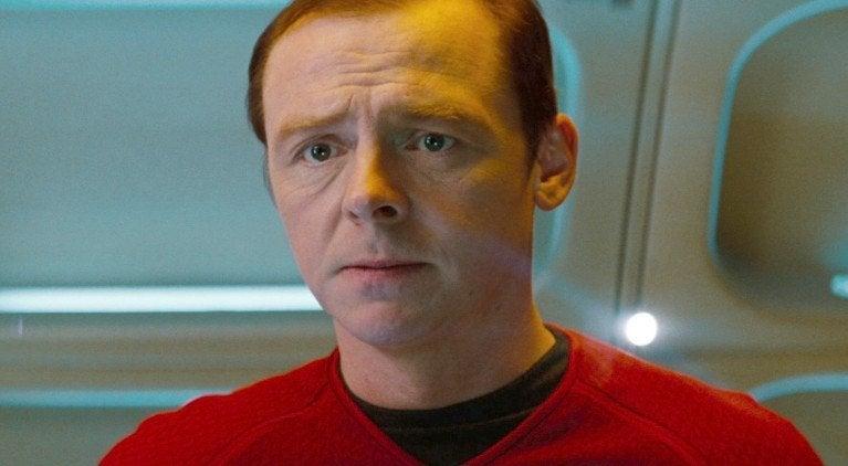 Star Trek Scotty Simon Pegg