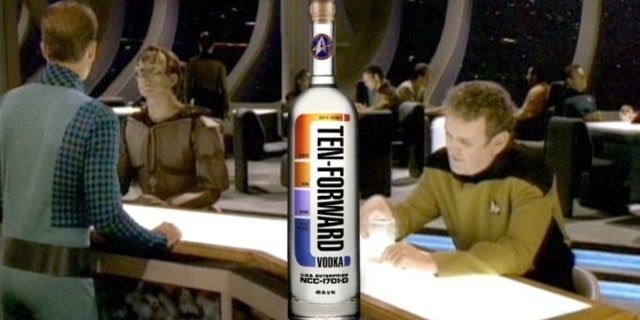 Star Trek The Next Generation Ten Forward Vodka