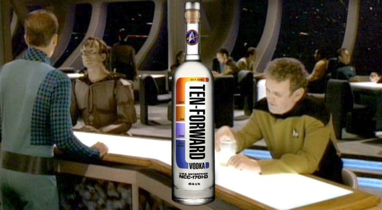Star Trek The Next Generation Ten Forward Vodka
