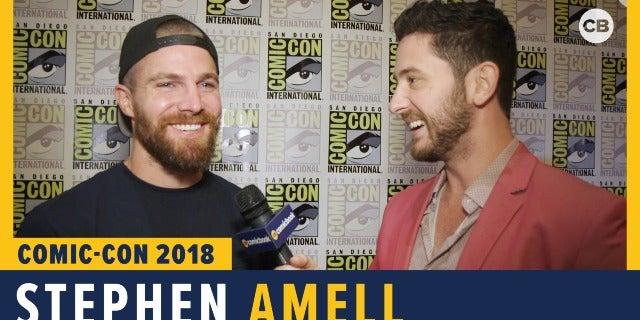Stephen Amell - SDCC 2018 Exclusive Interview screen capture