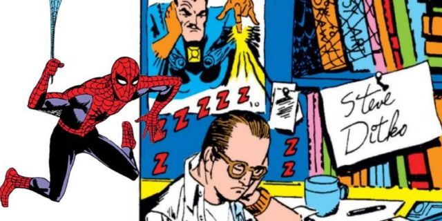 Steve Ditko Spider-Man Doctor Strange comicbookcom