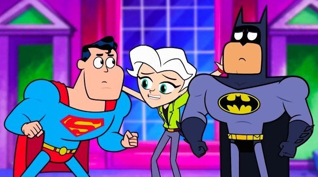 Teen Titans Go Movies Batman v Superman Joke Almost Cut By Warner Bros