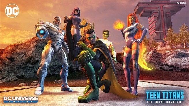 Teen Titans Keyart