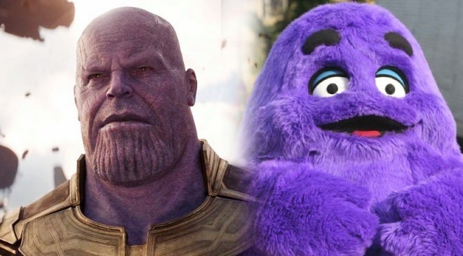 thanos grimace cosplay