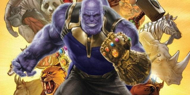 Thanos Snap Animals