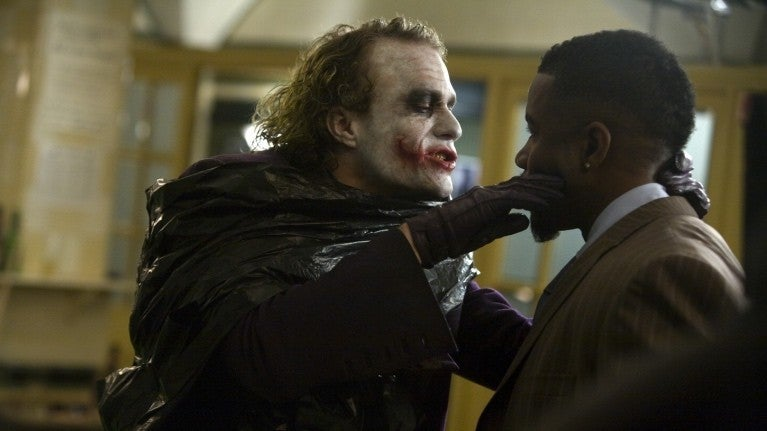 The Dark Knight Joker Gambol