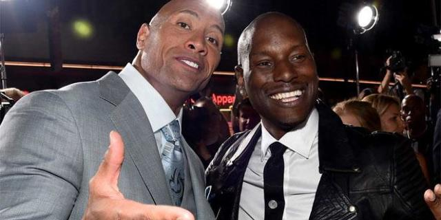 the-rock-tyrese-gibson-20014655-Alberto E Rodriguez : Getty Images