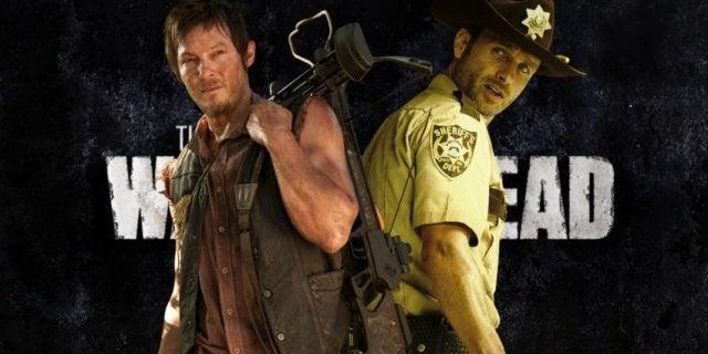 The Walking Dead Rick Daryl COMICBOOKCOM