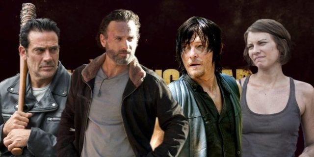 The Walking Dead Rick Daryl Maggie comicbookcom