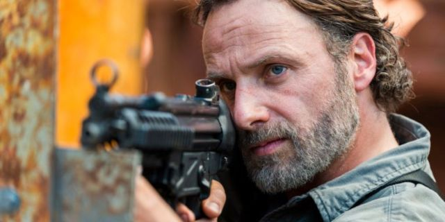 The Walking Dead season 8 Rick
