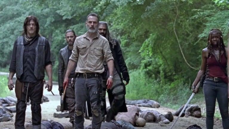 The Walking Dead season 9 cast