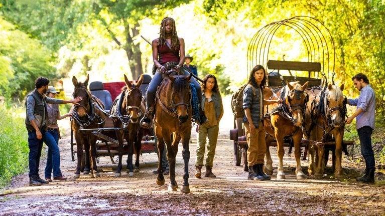 The Walking Dead season 9 Michonne