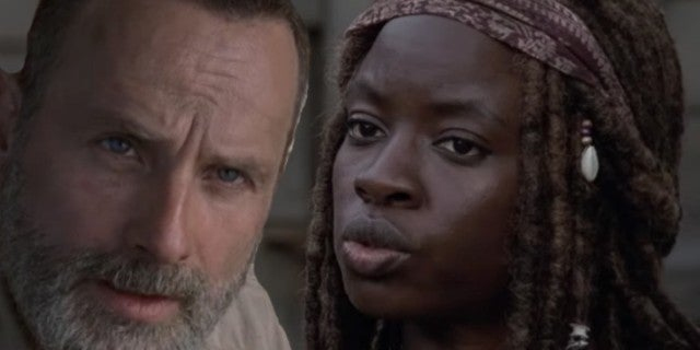 The Walking Dead season 9 Richonne comicbookcom