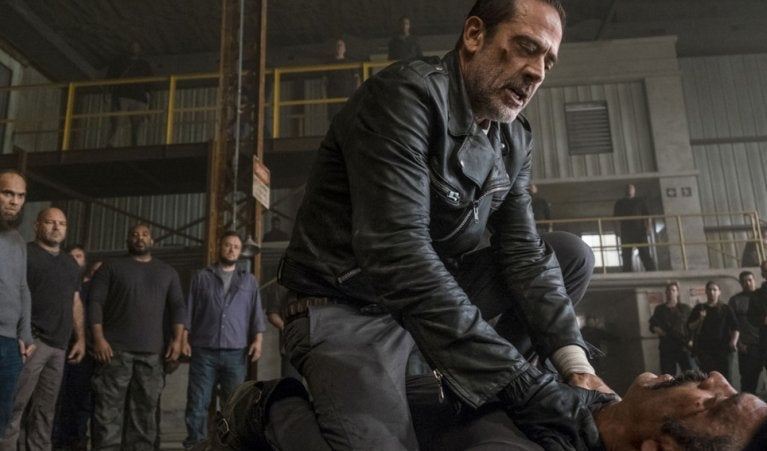 The Walking Dead Simon Negan