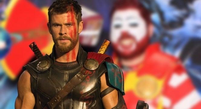 thor ragnarok ronald mcdonald mcthor cosplay