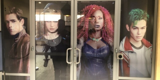 titans sdcc display