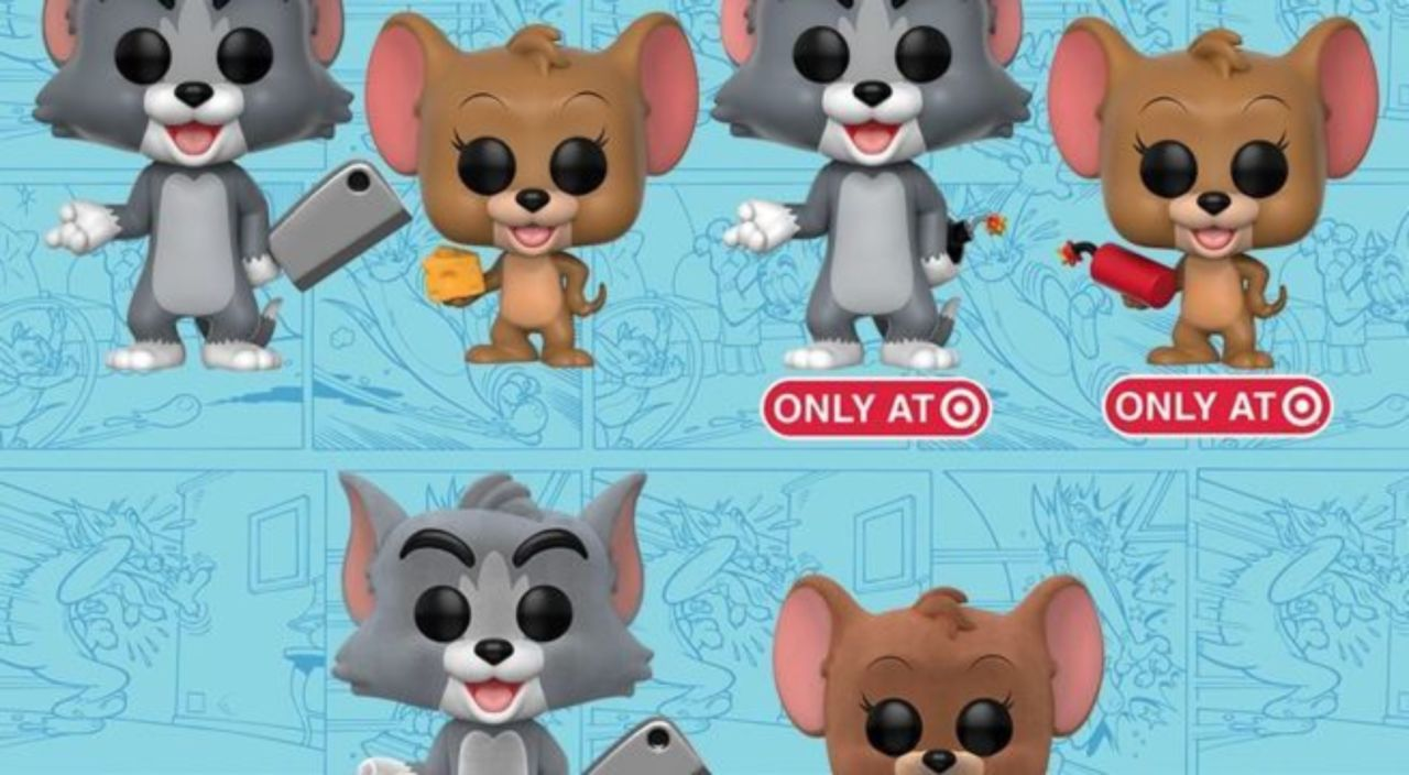 Tom And Jerry With Explosive Funko Pop Vinyl Figure Bundle Exclusive